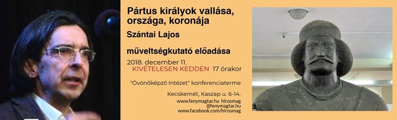 Szántai Lajos előadása - 2018.12.11.