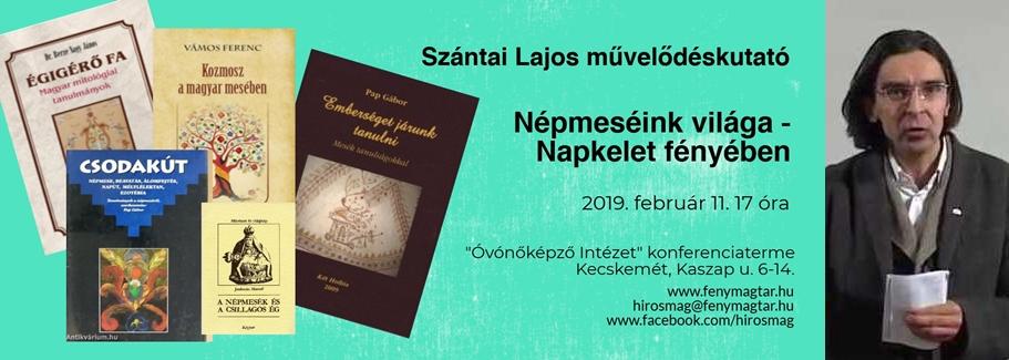 Szántai Lajos előadása - 2019. február 11.